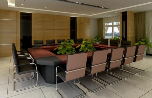 会议室座椅的颜色搭配