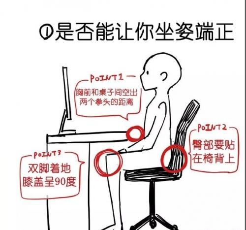 办公椅的正确选择