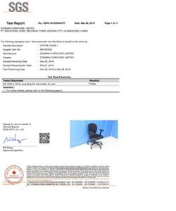 办公椅批发-MS7003欧洲EN1335报告